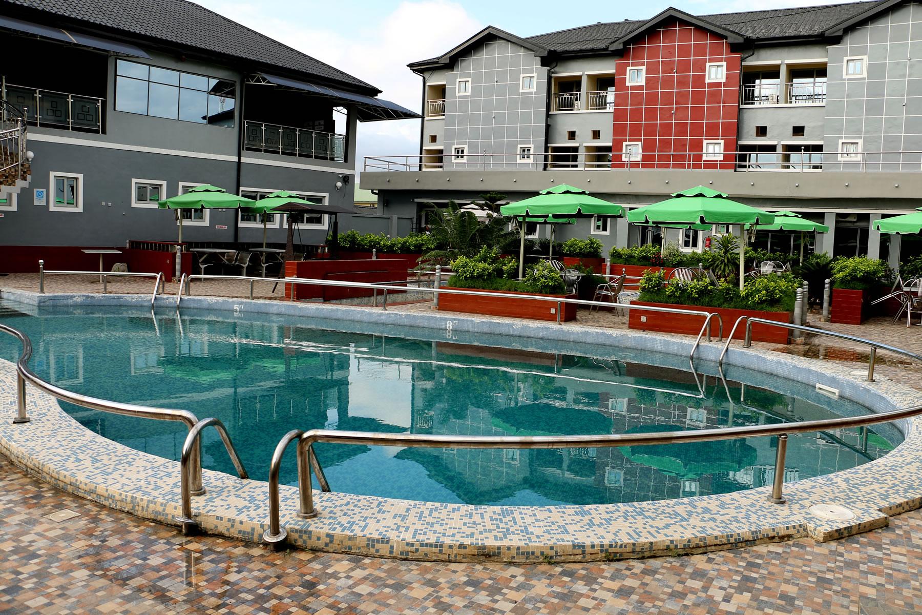 swimming pool allseasons hotel owerri